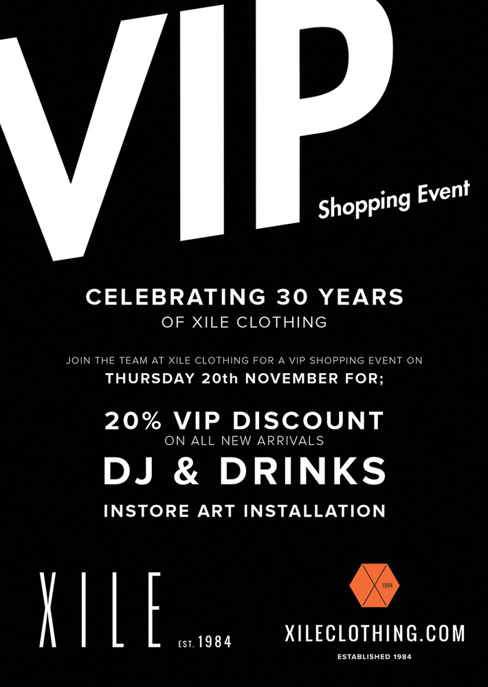 VIP SHOPPING EVENT | 20% OFF