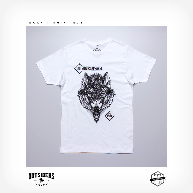 Xile x Outsiders Apparel Collab T-Shirt
