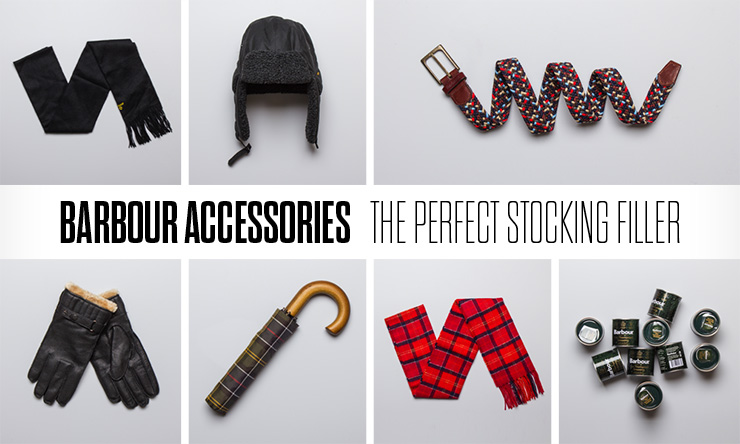 BARBOUR ACCESSORIES | THE PERFECT STOCKING FILLER