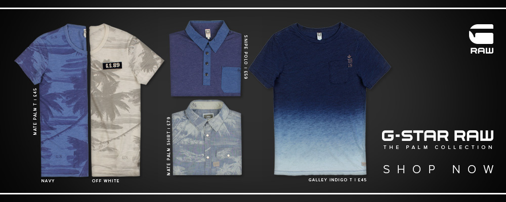 G Star RAW Palm Collection