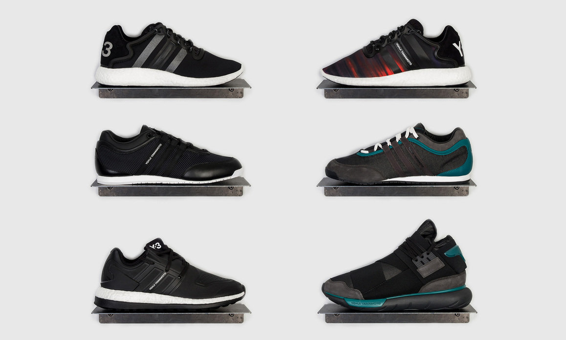 92a419506b75 Y-3 AW16 Footwear Collection