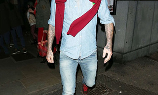 David Beckham Double Denim