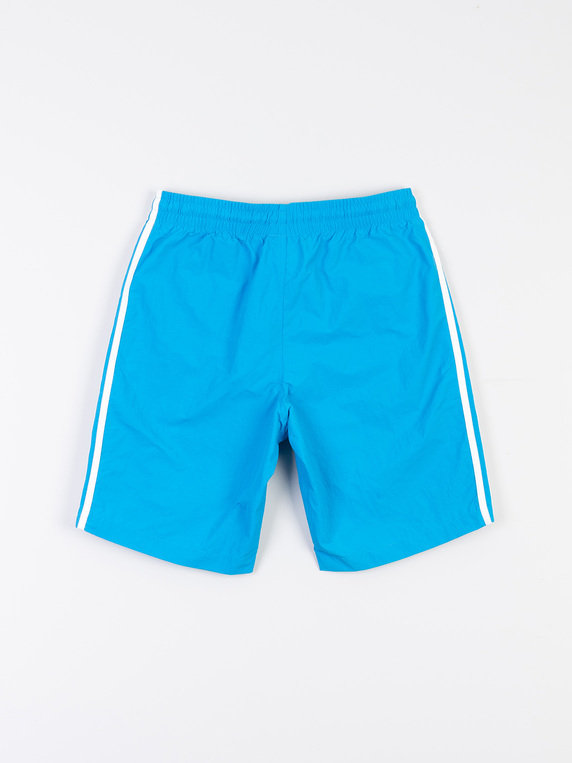 56c52266ca adidas 3 Stripe Swim Shorts Light Blue for Sale | Xile
