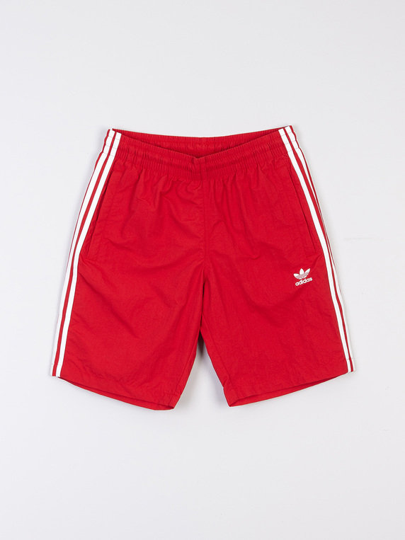 14a895a1d66 adidas 3 Stripe Swim Shorts Red for Sale | Xile