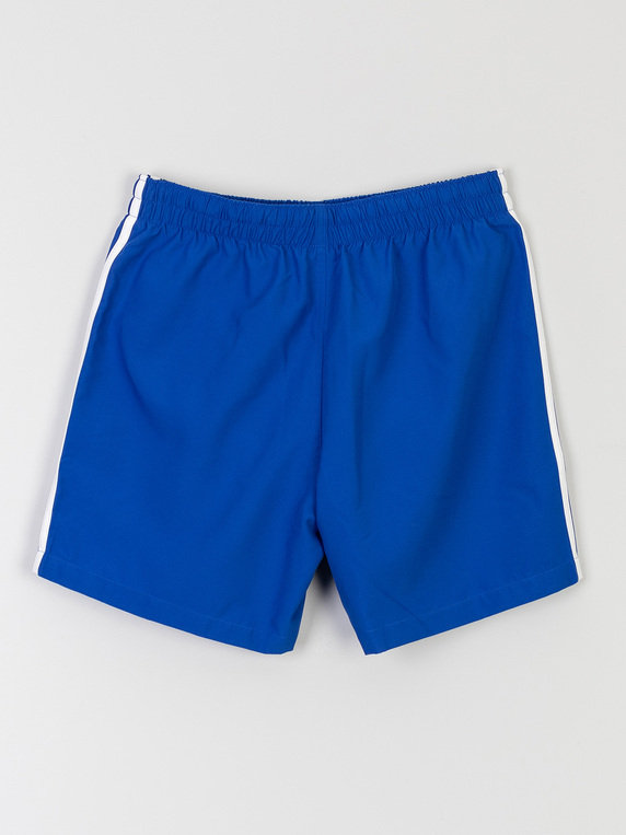 adidas 3 Stripe Swim Shorts Royal