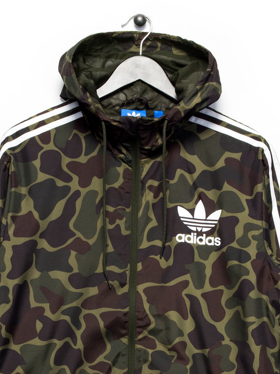 adidas camo windbreaker jacket green adidas hooded xile. Black Bedroom Furniture Sets. Home Design Ideas