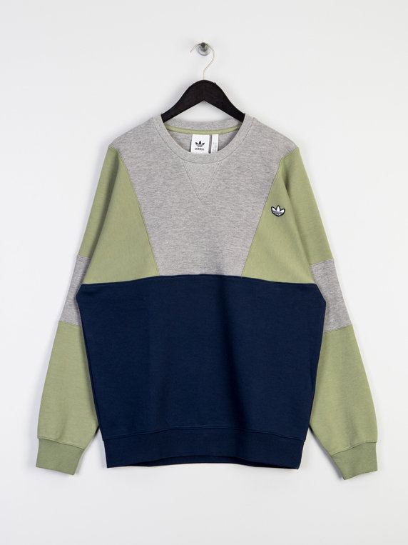 adidas Crew Sweat Top Navy