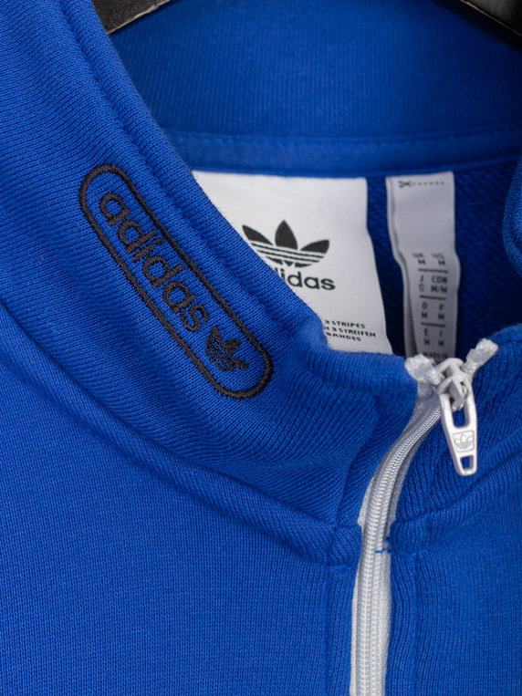 adidas FB Quarter Zip Sweat Royal Blue