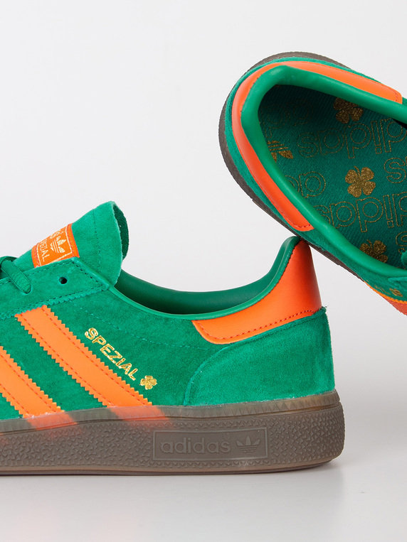 15c308a5c57 adidas Handball Spezial St Patricks Day Trainers Green Thumbnail. £75.00