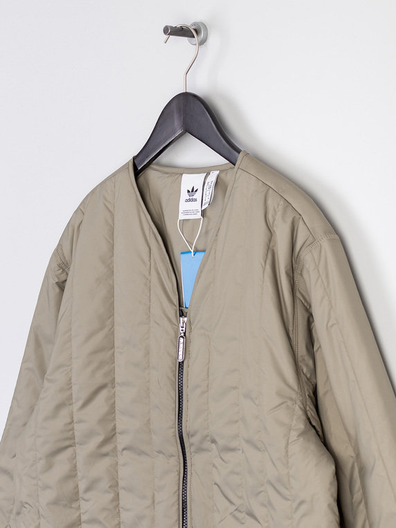 adidas R.Y.V Quilted Jacket Clay