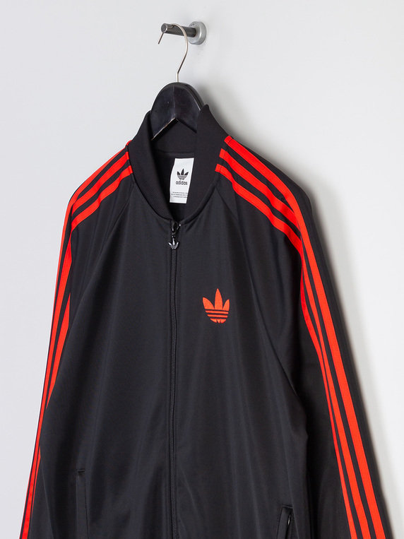 adidas RUN DMC SST OG Tracktop Black & Red