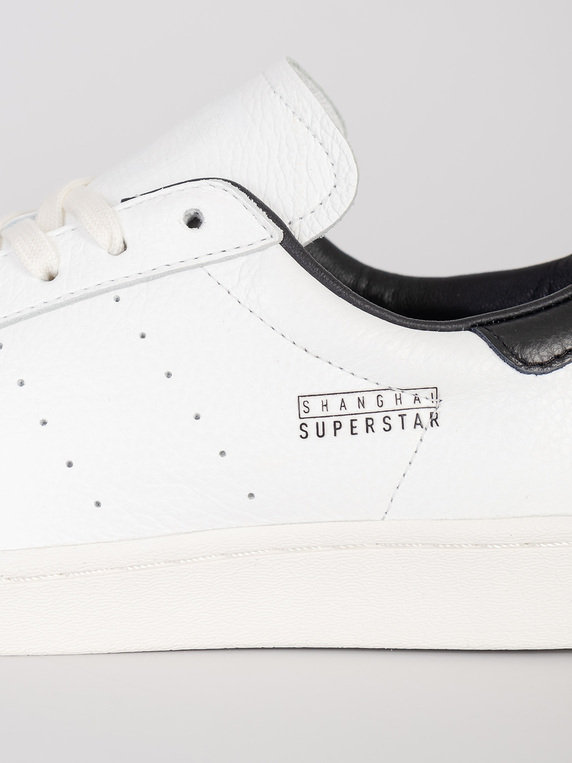adidas Shanghai Superstar Pure Trainers White
