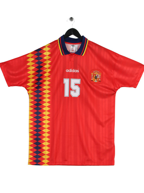 7713a688d adidas Spain World Cup Retro Jersey Red for Sale