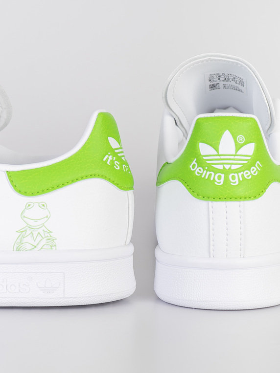 adidas Stan Smith Kermit White Green