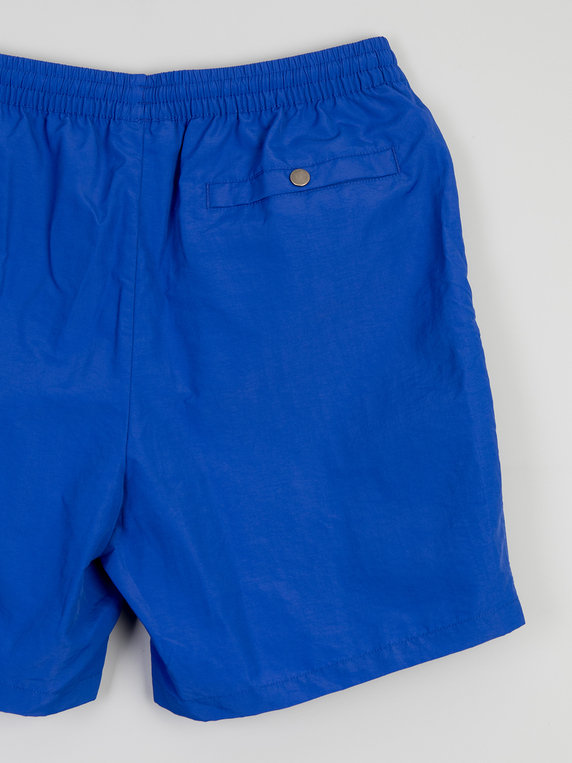 Alife Nylon Swim Shorts Royal Blue