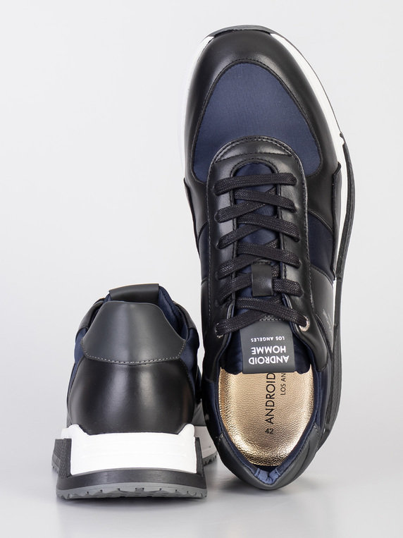 Android Homme Matador Leather Ink Black