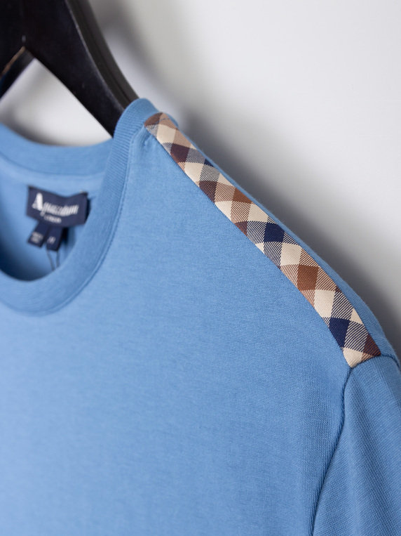 Aquascutum Southport T-Shirt Blue
