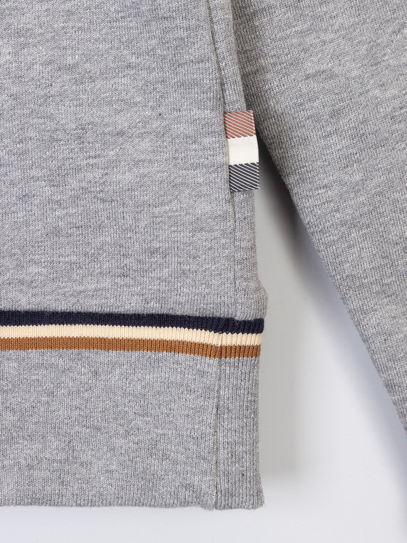 Aquascutum Wallace Sweat Grey