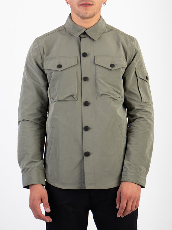 Barbour Beacon Askern Overshirt Olive