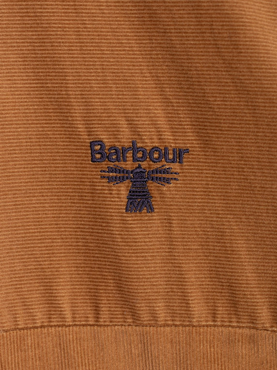 Barbour Beacon Balfour Cord Shirt Sand