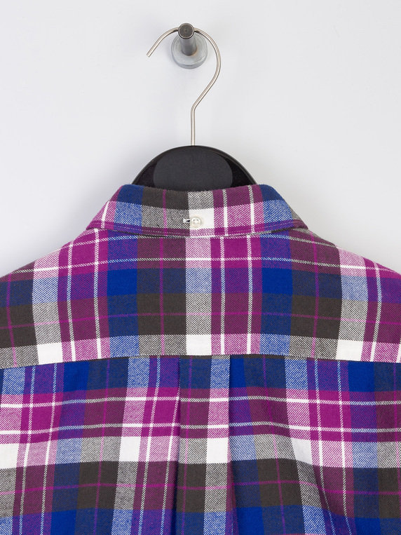 Barbour Beacon Clifton Shirt Purple