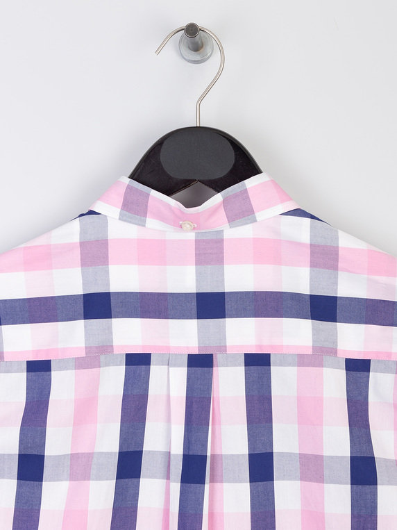 Barbour Beacon Frampton Short Sleeve Shirt Pink