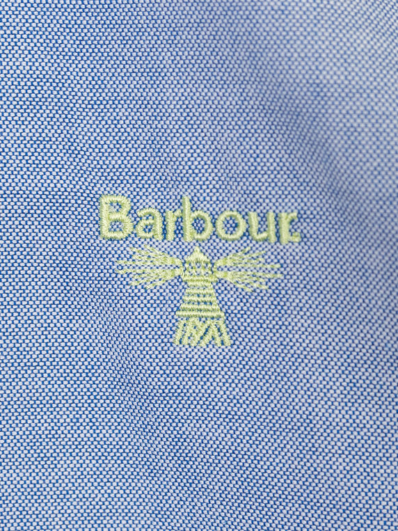 Barbour Beacon Oxford Shirt Deep Blue