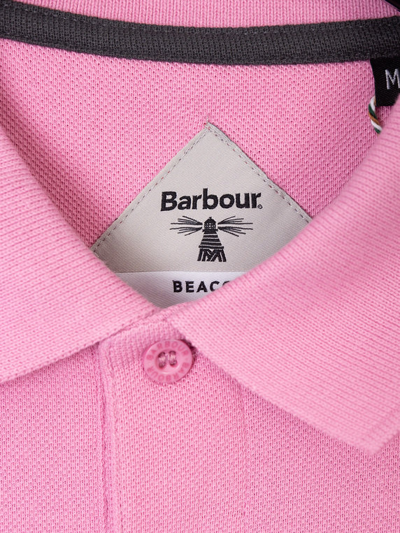 Barbour Beacon Polo Shirt Lilac