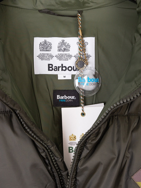 Barbour Beacon Ross Quilt Jacket Sage