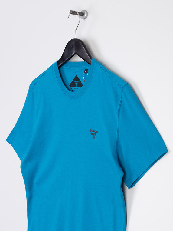 Barbour Beacon T-Shirt Blue