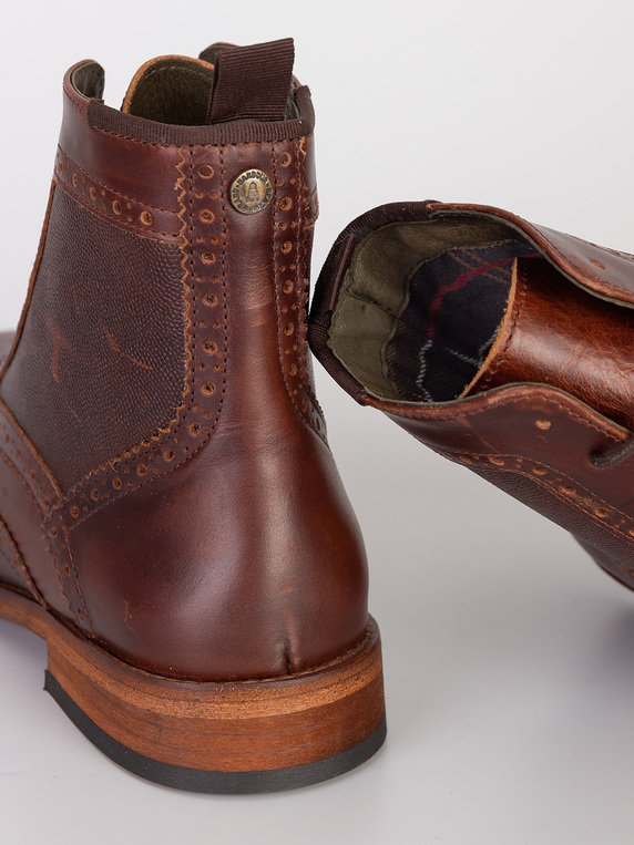 Barbour Belford Boot Mahogany