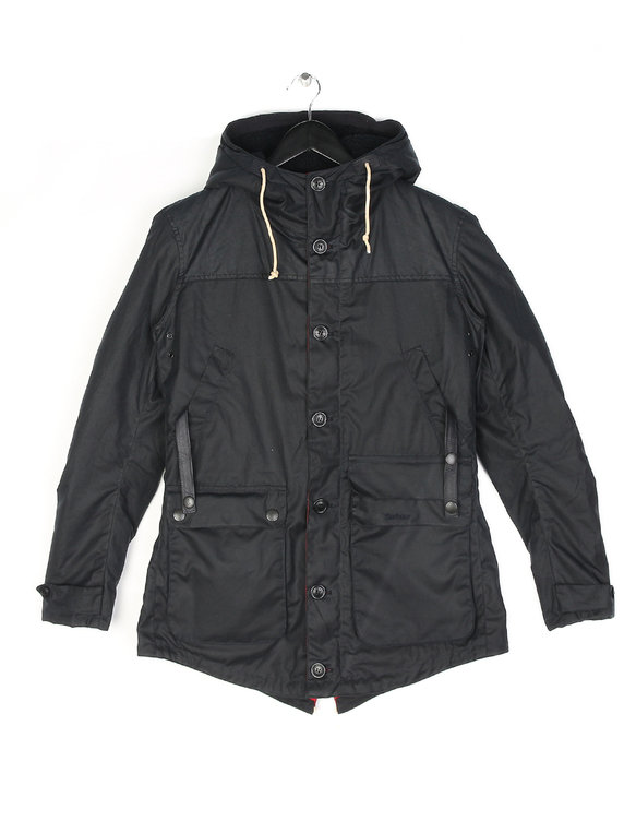Barbour Game Parka Jacket Navy - Xile