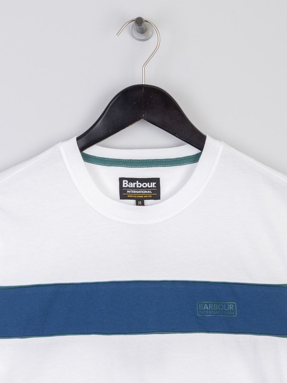 Barbour International Magna Block T-Shirt White