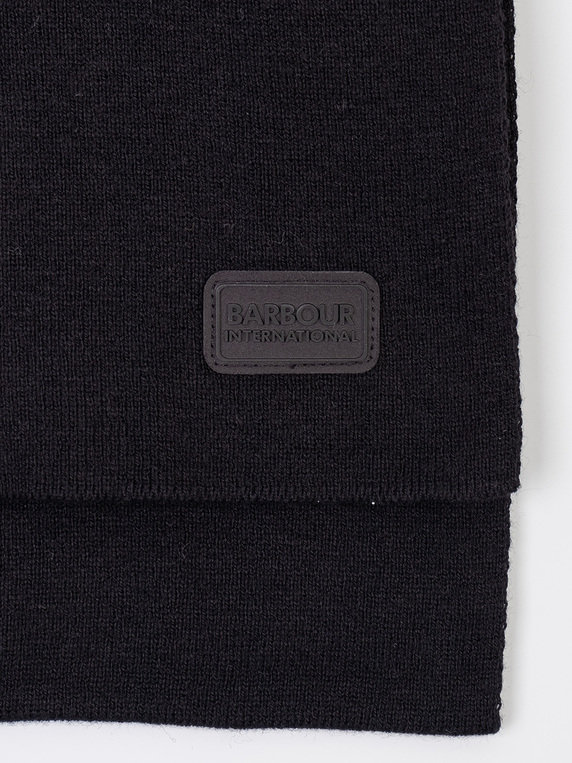 Barbour International Sensor Scarf Black