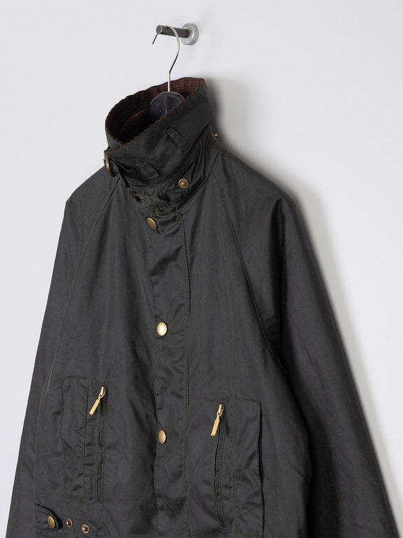 Barbour M Icons Beaufort Wax Jacket Sage