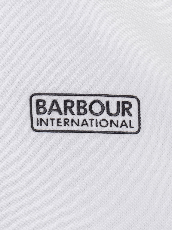 Barbour International Ampere Polo White