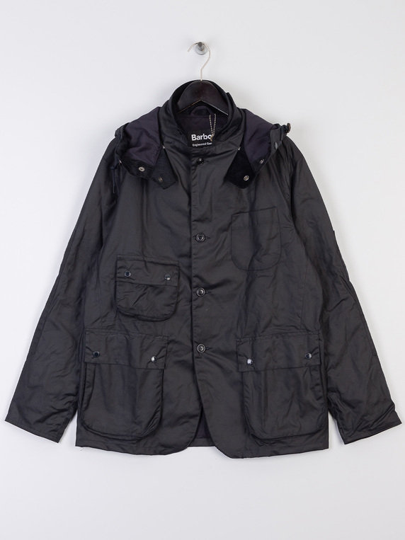Barbour X Engineered Garments Upland Wax Jacket Navy