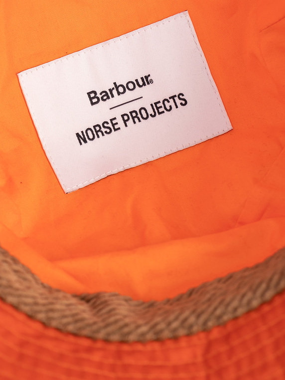Barbour X Norse Projects LW Wax SP Orange
