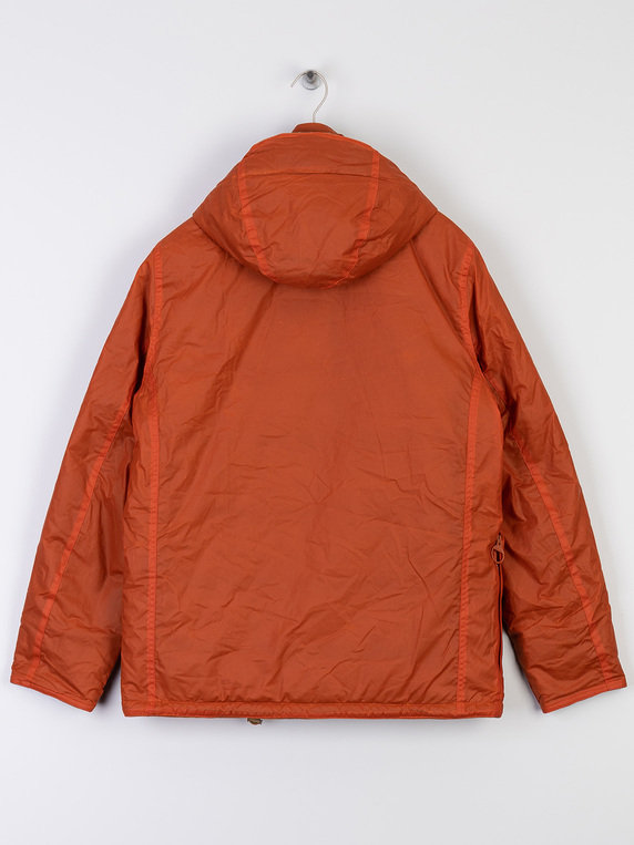 Barbour X Norse Projects Wax Ursula Jacket Orange