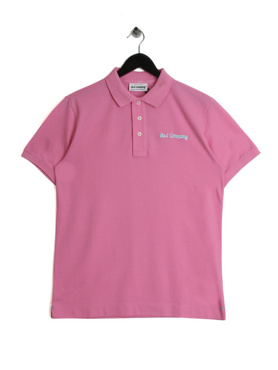 Best Company Polo Shirt Rose Pink For Sale Xile