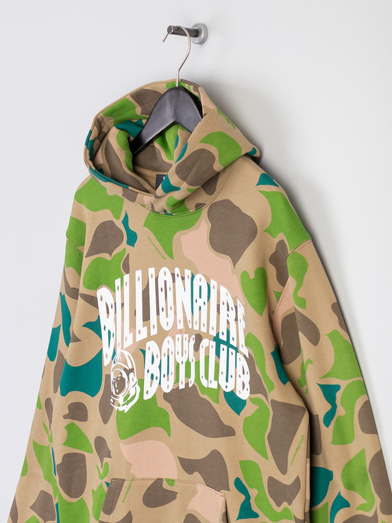 Billionaire Boys Club Camo All Over Arch Logo Hoody Camo