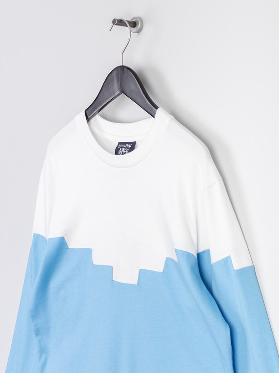 Billionaire Boys Club Contrast Long Sleeve T-Shirt Blue