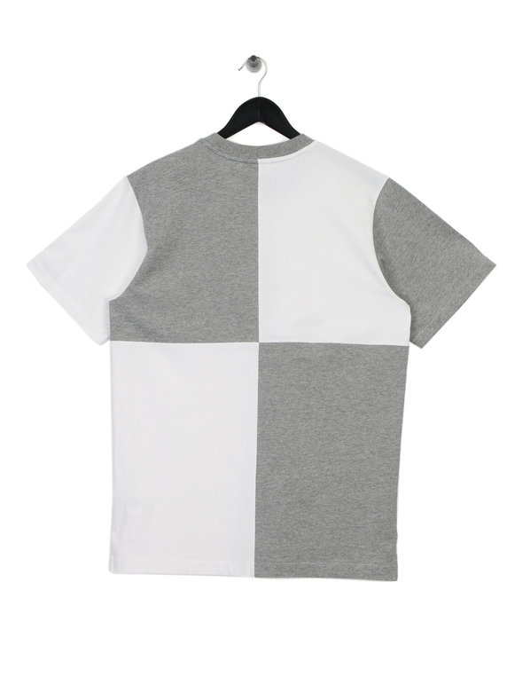 Billionaire Boys Club Diagonal Cut & Sew T-Shirt White/Grey
