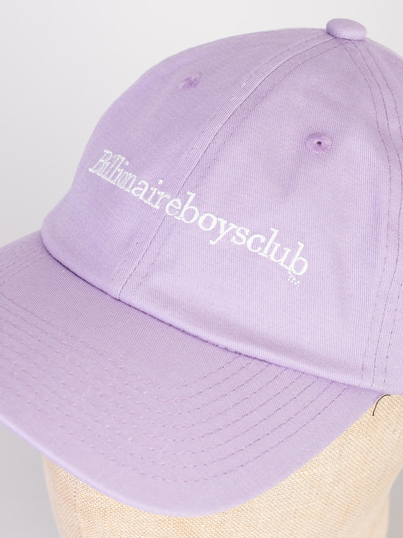 Billionaire Boys Club Embroidered Curve Cap Lilac