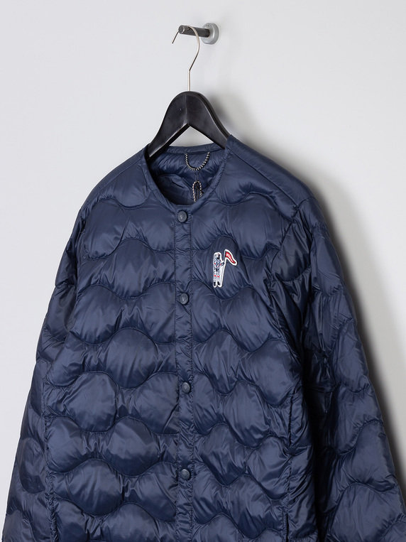 Billionaire Boys Club Quilted Liner Jacket Navy