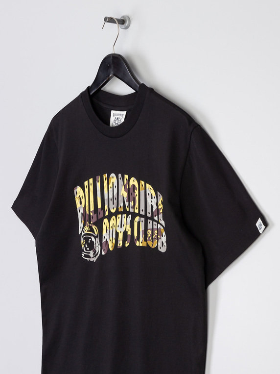 Billionaire Boys Club Reflective Camo Arch Logo T-Shirt Black