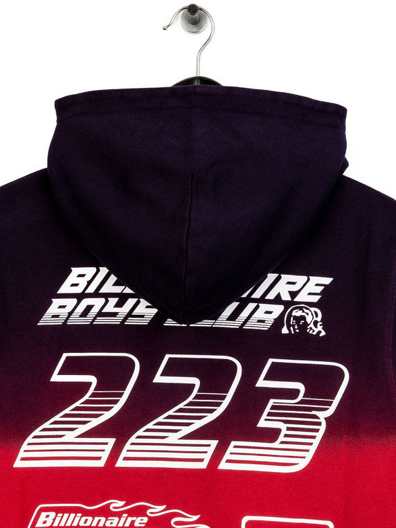 7ab417f4aa7 Billionaire Boys Club Straight Logo Popover Hoodie Red Thumbnail. was  £229.00 now £160.00 save 30 %. SALE