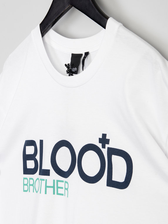 Blood Brother Trademark T-Shirt White