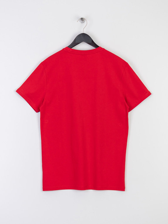 Boss Lounge Swim Logo T-Shirt Red