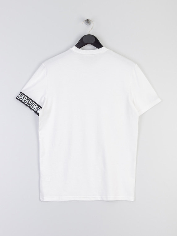 Dsquared2 D9M202970 100 Roundneck T-Shirt White